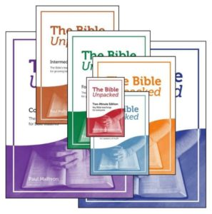 Go to 7 Editions page on The Bible Unpacked website.